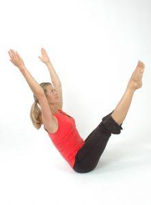 yoga balancing body posture